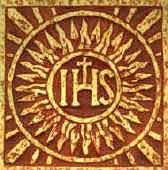 The IHS Monogram of Jesus