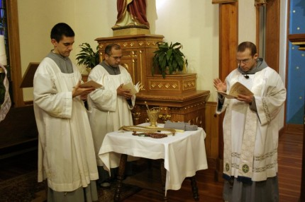 2013-12-07 Novice Investiture - fra Charbel 11 -facebook