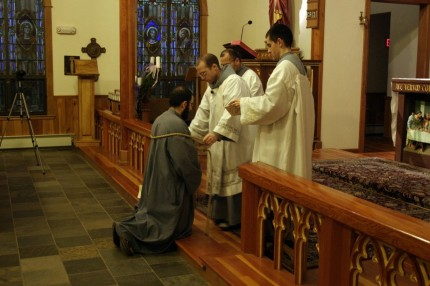 2013-12-07 Novice Investiture - fra Charbel 13 -facebook